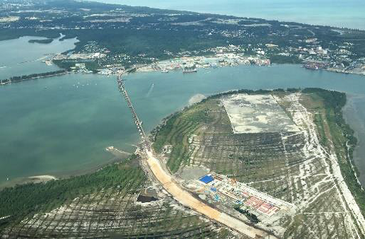Pulau muara besar brunei refinery project investment khalid al-hassan arab investment company